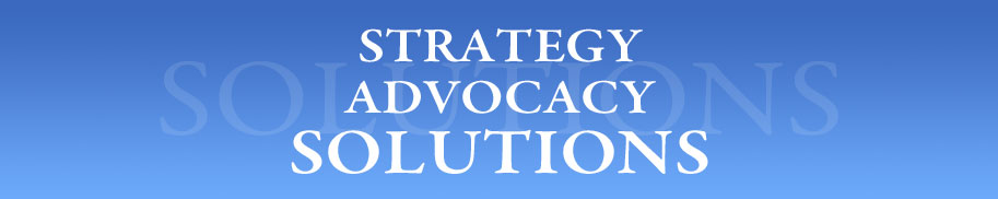 STRATEGY ADVOCACY SOLUTIONS